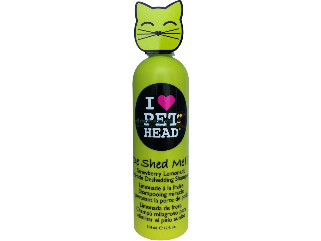 Pet Head šampon cat De Shed Me 354ml