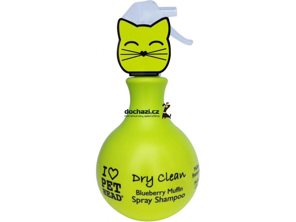 Pet Head šampon cat Dry clean 450ml