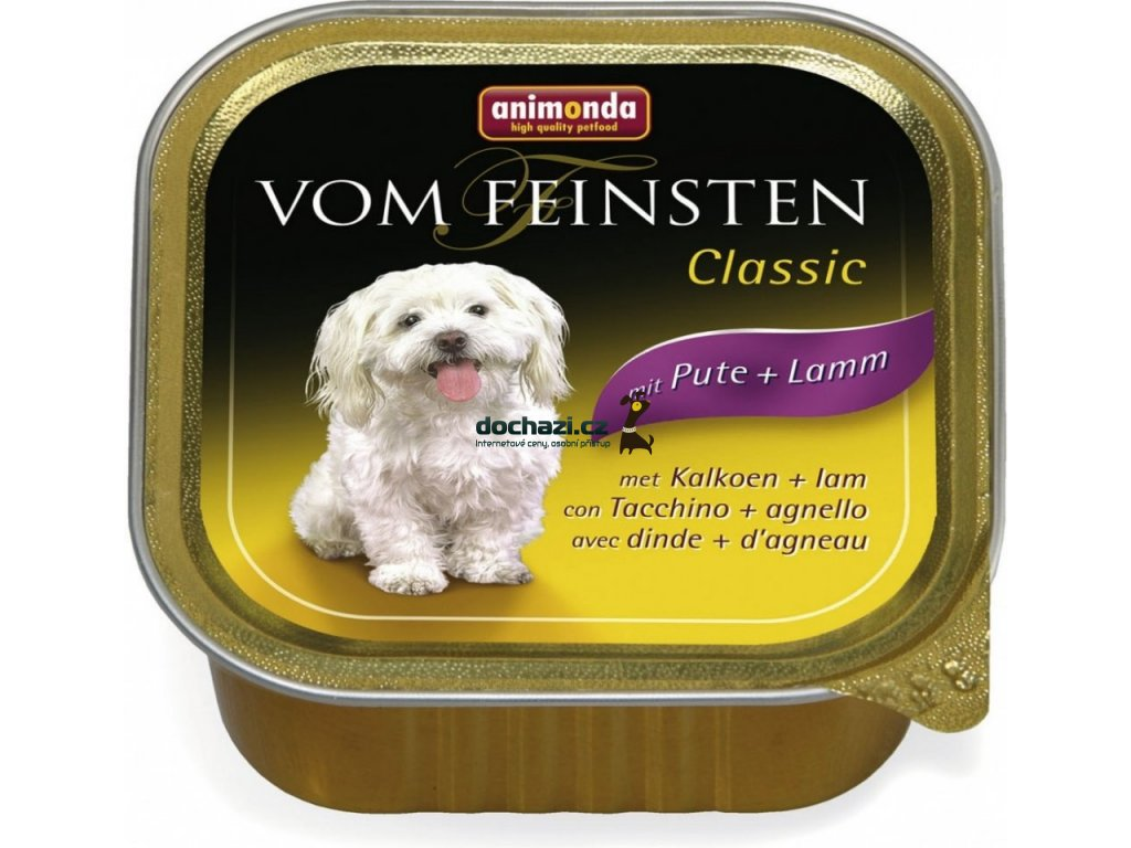 ANIMONDA dog paštika ADULT jehněčí/krůtí 150g