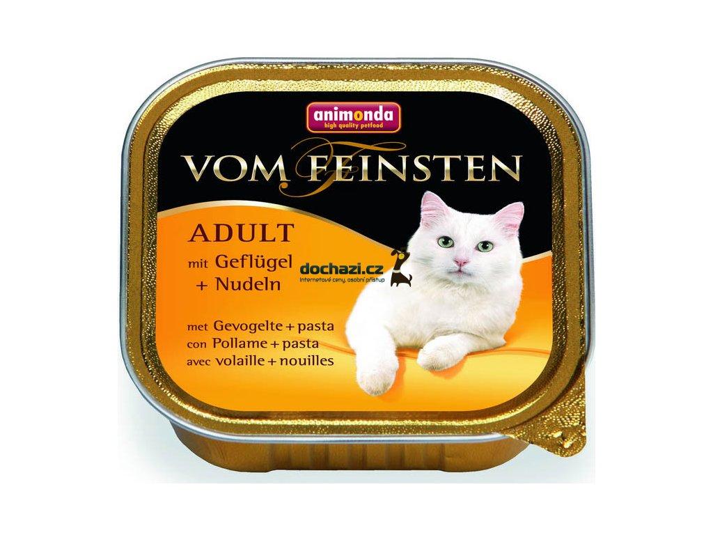 ANIMONDA cat paštika CLASSIC drůbež/nudle 100g