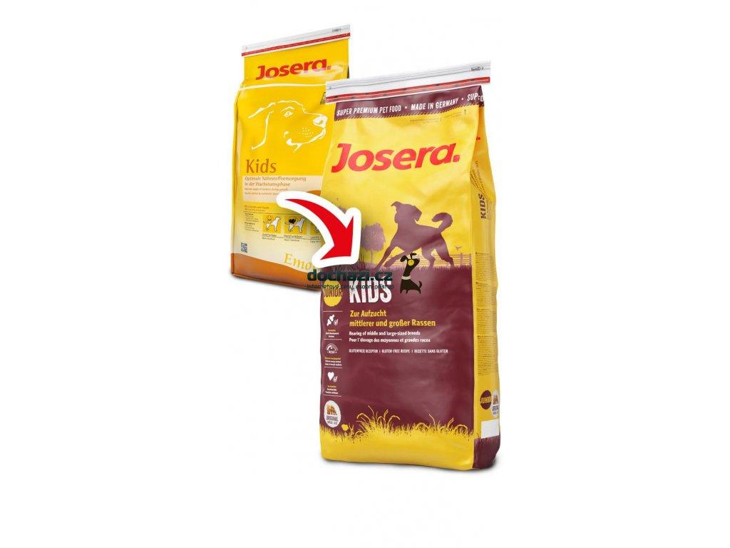 JOSERA dog KIDS/drůbeží 15Kg