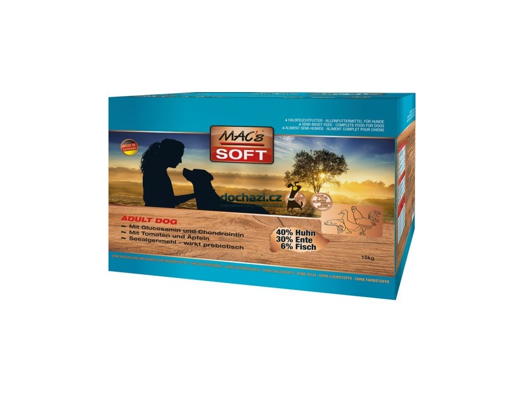 SOFT MACs Dog GRAIN FREE - 1,5Kg