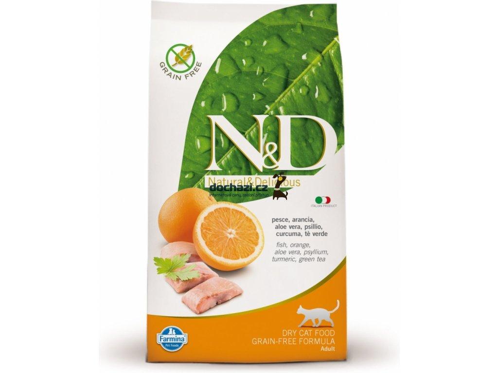 N&D Grain Free CAT Adult Fish & Orange