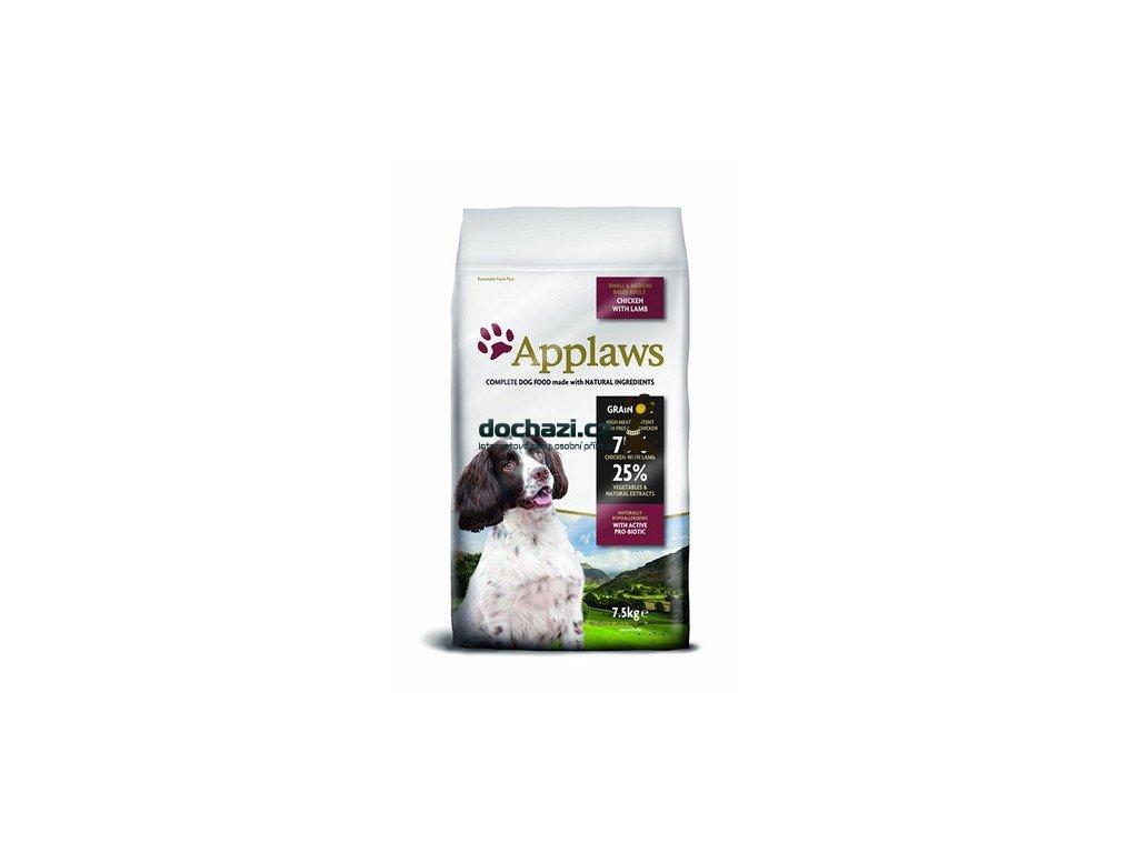 Applaws Dog Adult Small & Medium Breed Chicken & Lamb