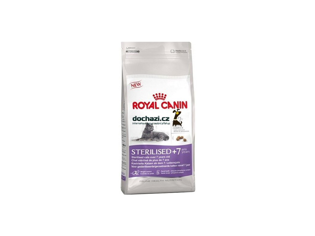 Royal Canin - cat STERILISED 7+
