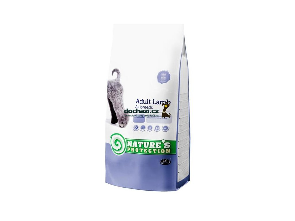 Nature's Protection Dog Dry Adult Lamb 12Kg