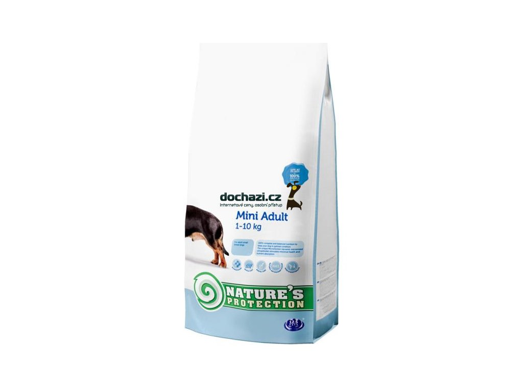 Nature's Protection Dog Dry Adult Mini