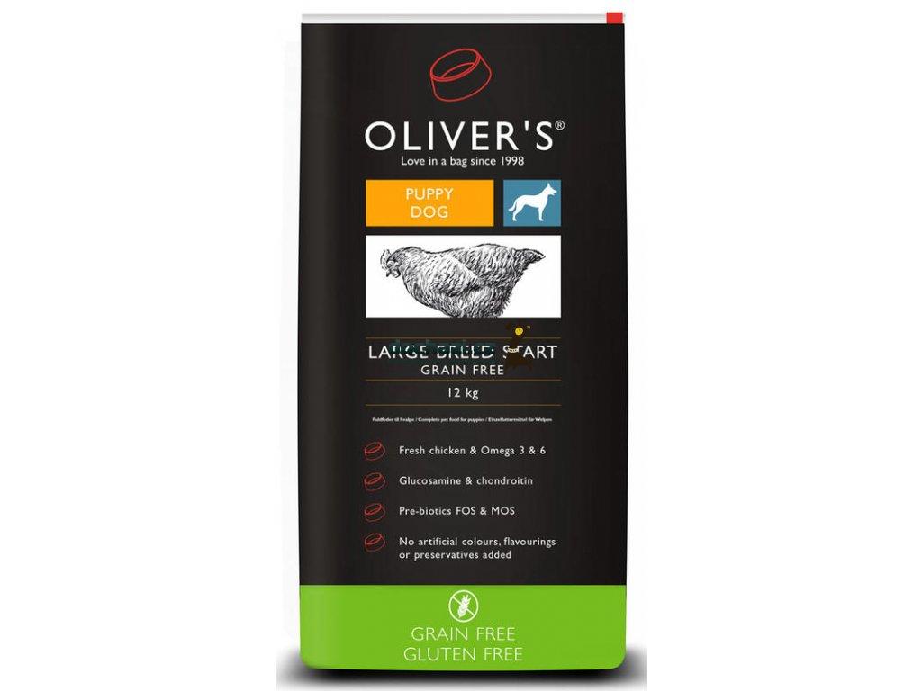 Olivers Large Breed Start Grain Free 12 kg
