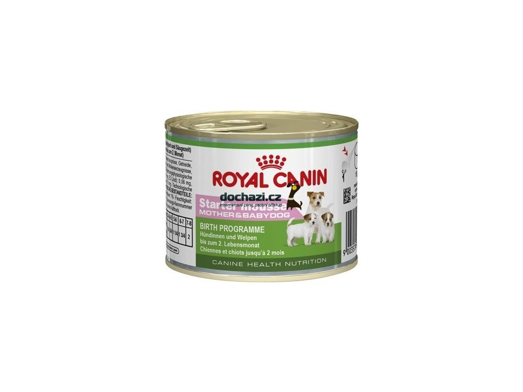 Royal Canin dog konzerva STARTER MOUSSSE 195g