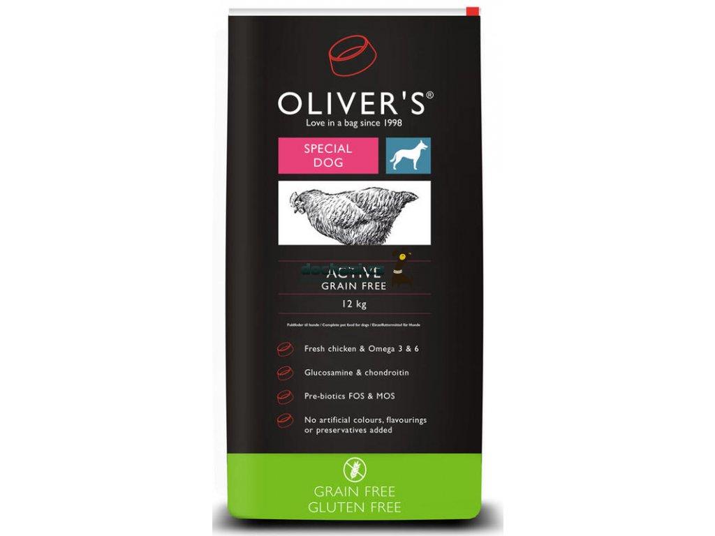 Olivers Active Grain Free 12 kg