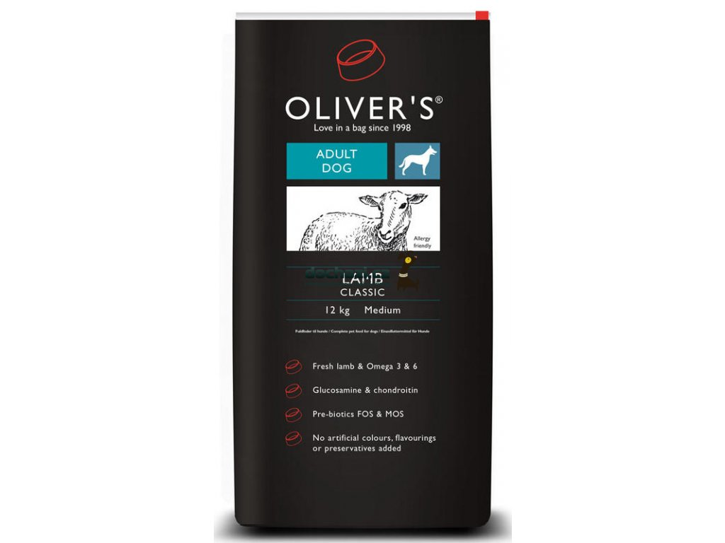 Olivers Adult Lamb classic medium 12 kg