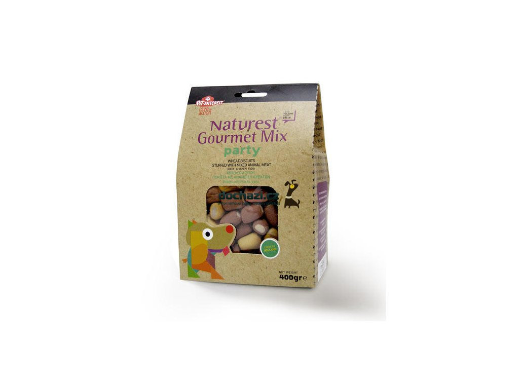 Naturest Gourmet Mix Party Biscuits 400g
