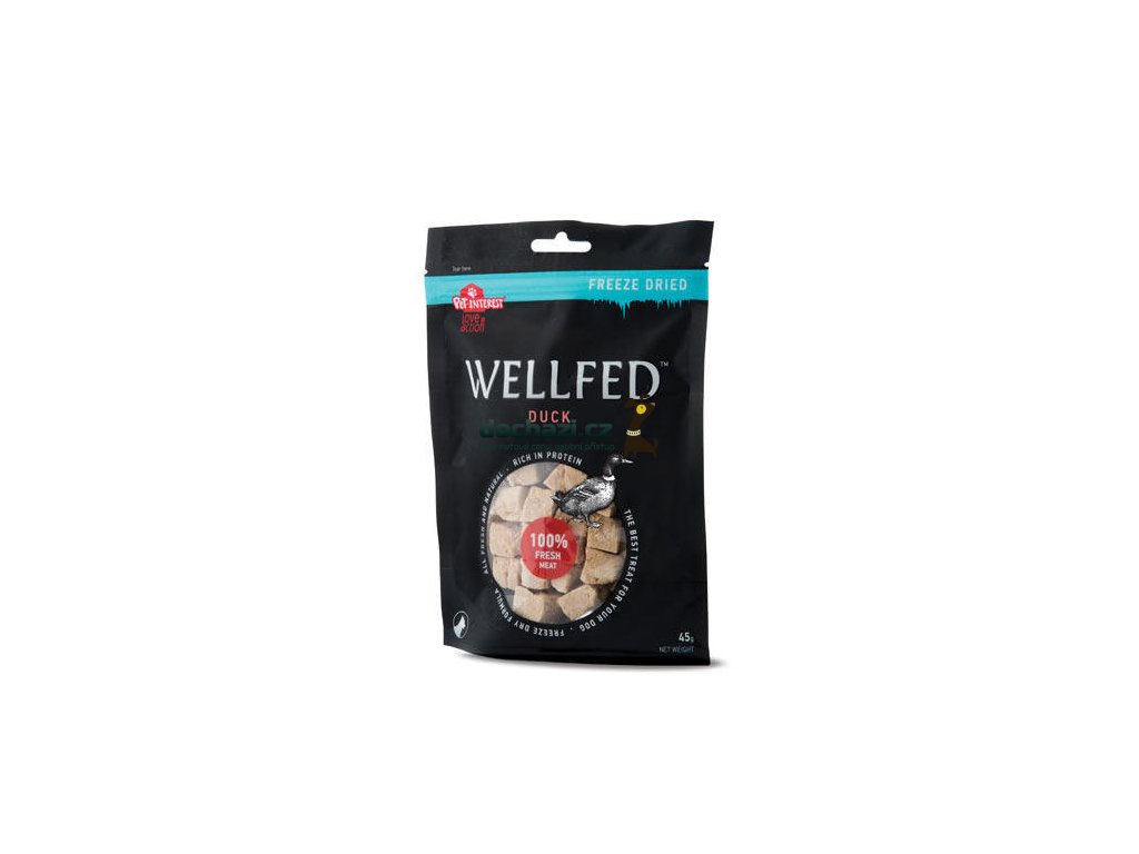 Wellfed Dog F.D. Pure Duck 45g