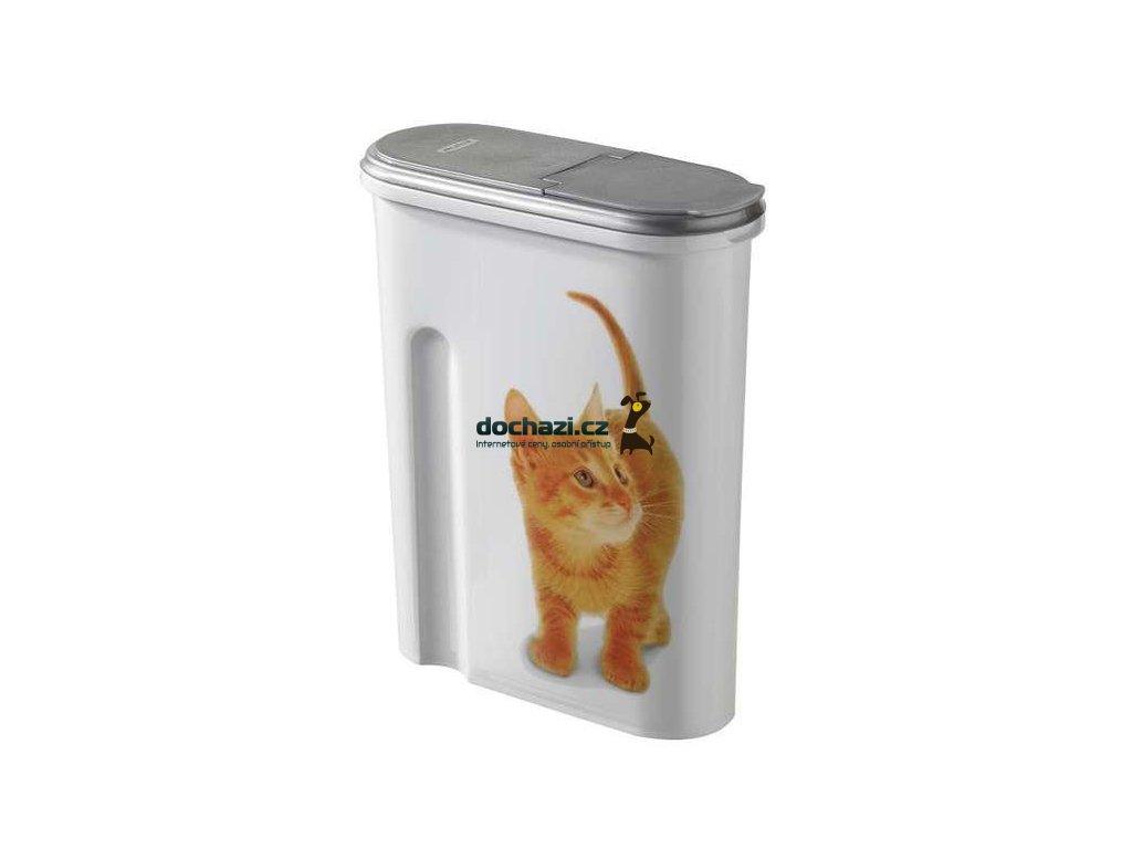 Kontejner na krmivo kočky 1,5l
