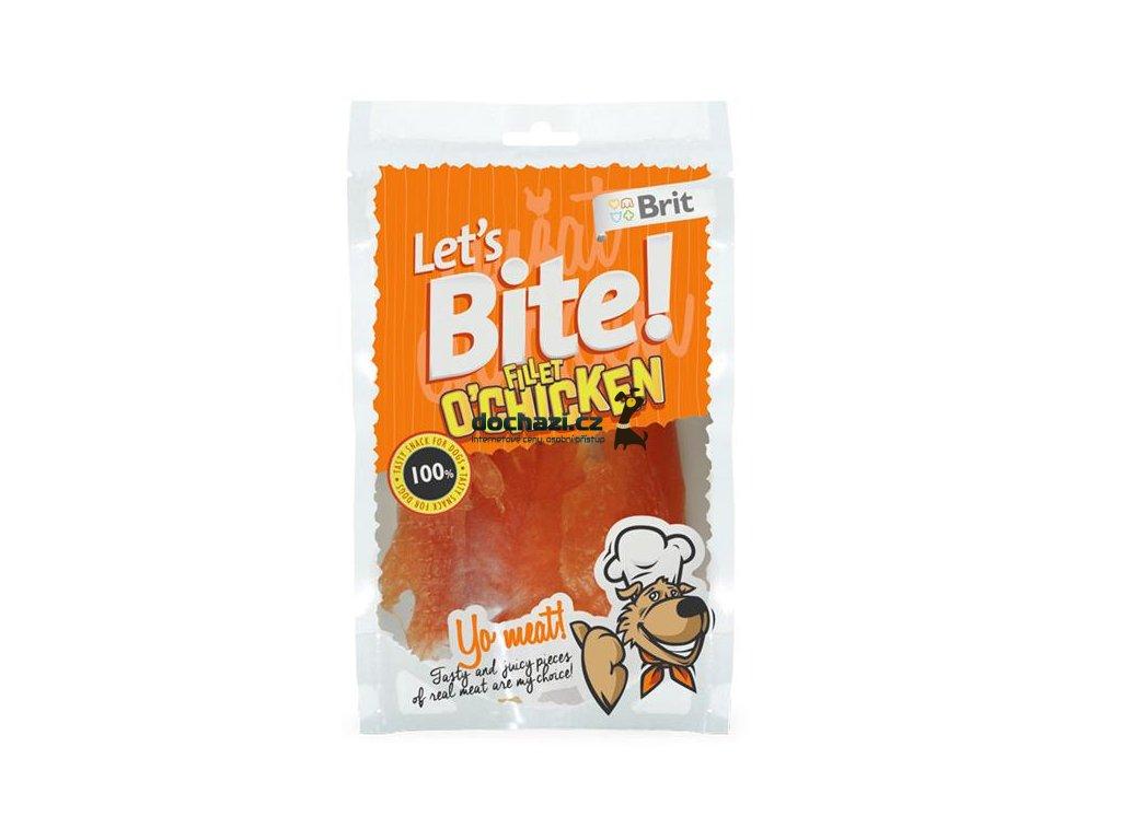 Brit Let´s Bite Fillet o´Chicken NOVÝ 80 g