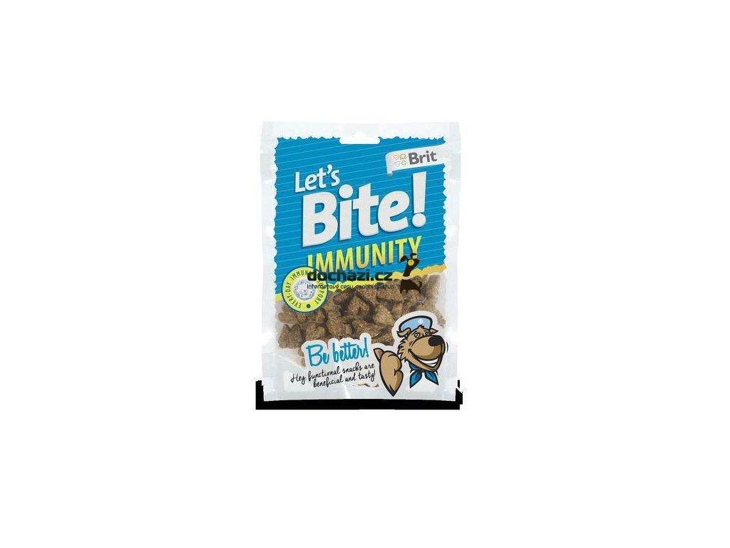 Brit Let´s Bite Immunity NOVÝ 150 g