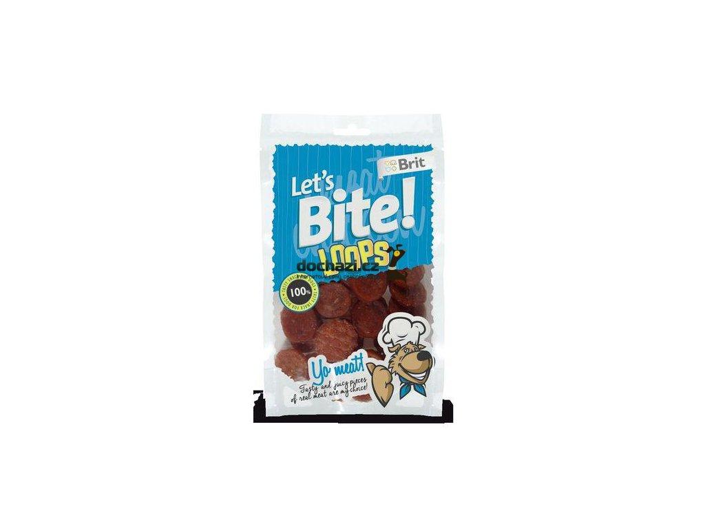 Brit Let´s Bite Loops NOVÝ 80 g