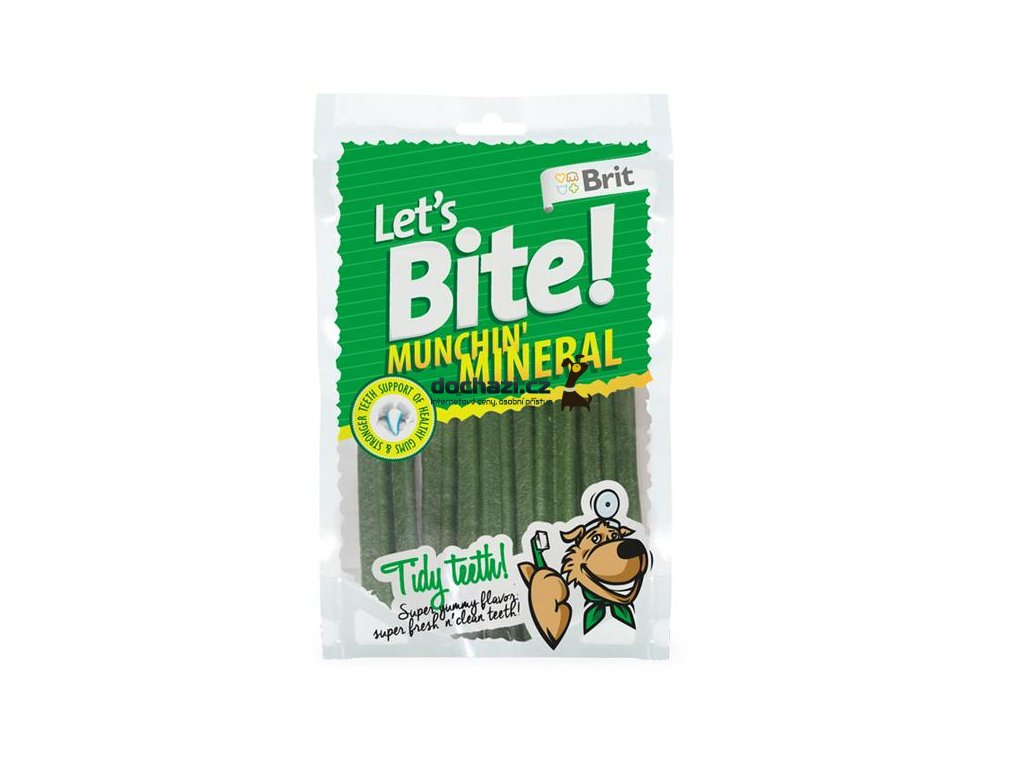 Brit Let´s Bite Munchin´Mineral NOVÝ 105 g