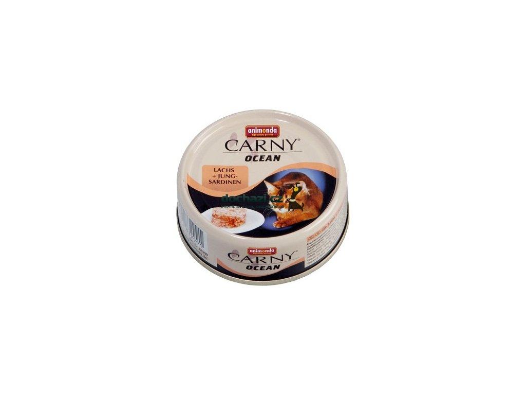 ANIMONDA cat konzerva CARNY OCEAN losos/sardinky 80 g