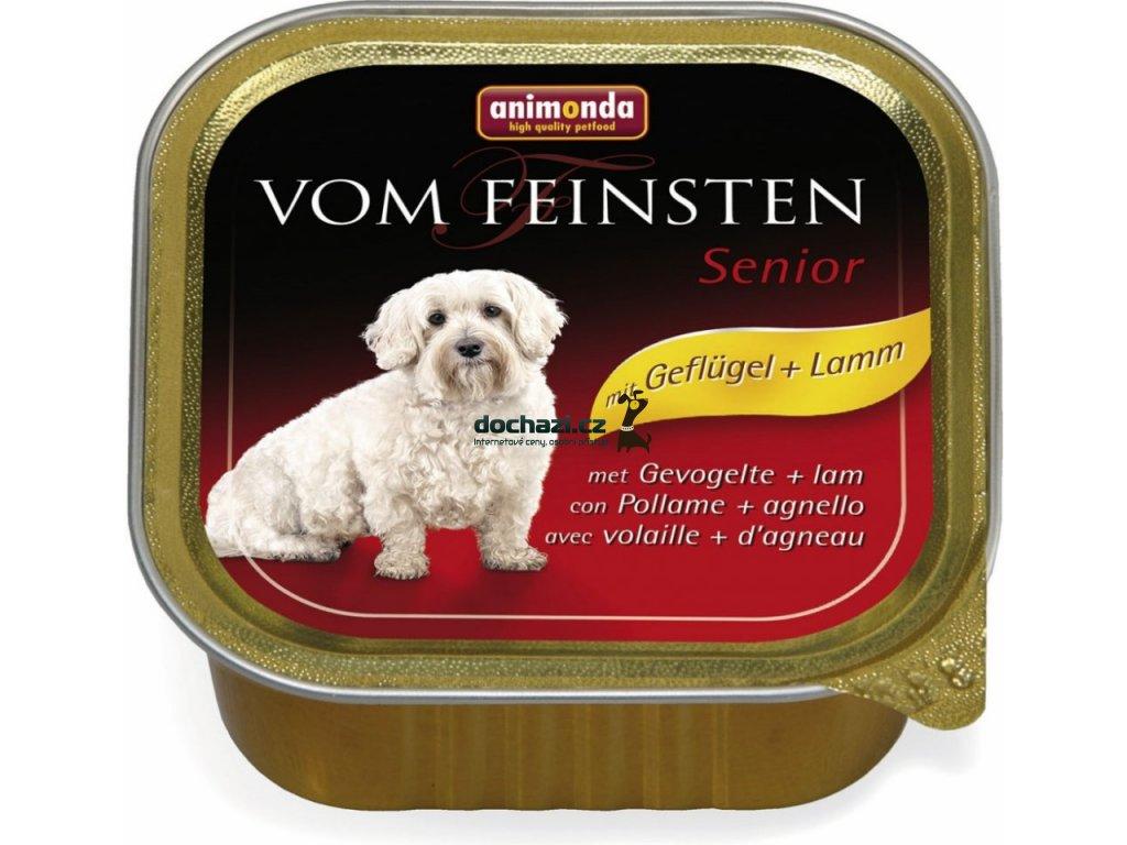 ANIMONDA dog paštika SENIOR drůbeží/jehněčí 150 g