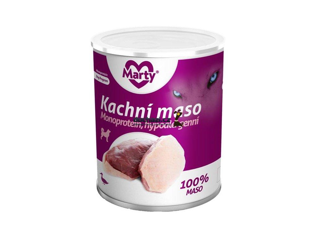 MARTY konz. pro psy - Monoprotein kachní 800 g