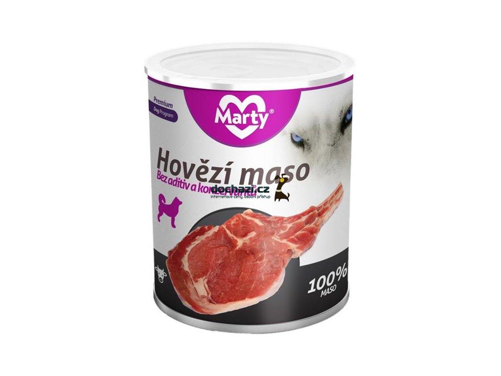 MARTY konz. pro psy - hovězí 800 g