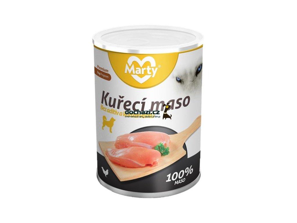 MARTY konz. pro psy - kuře 400 g
