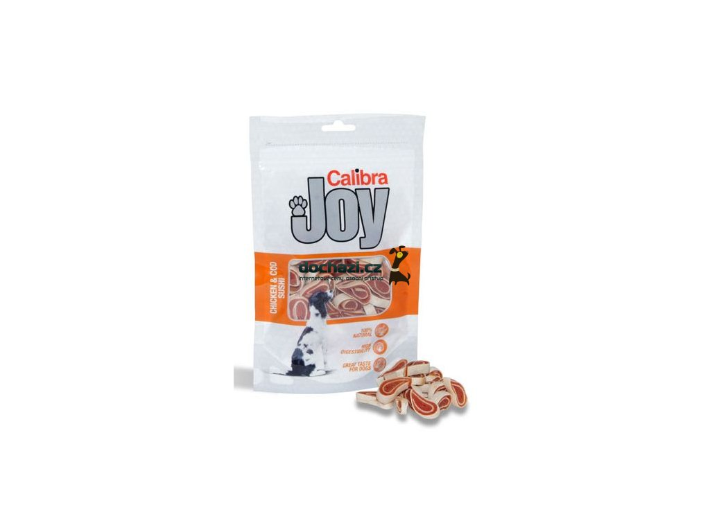 CALIBRA JOY chicken/cod SUSHI 80 g