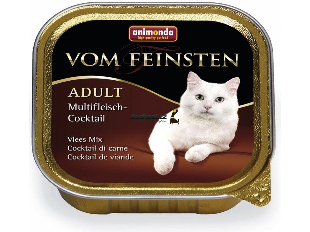 ANIMONDA cat paštika CLASSIC masový koktejl 100 g