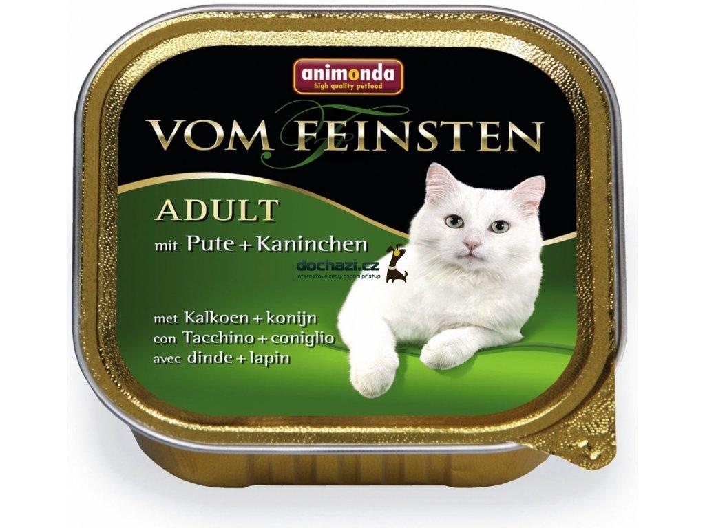 ANIMONDA cat paštika CLASSIC krůta/králík 100 g
