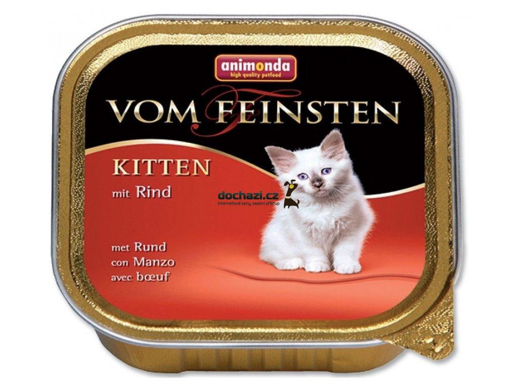 ANIMONDA cat paštika KITTEN hovězí 100 g