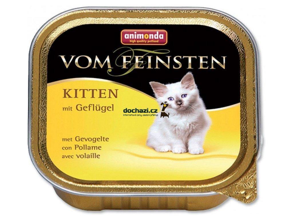 ANIMONDA cat paštika KITTEN drůbeží 100 g