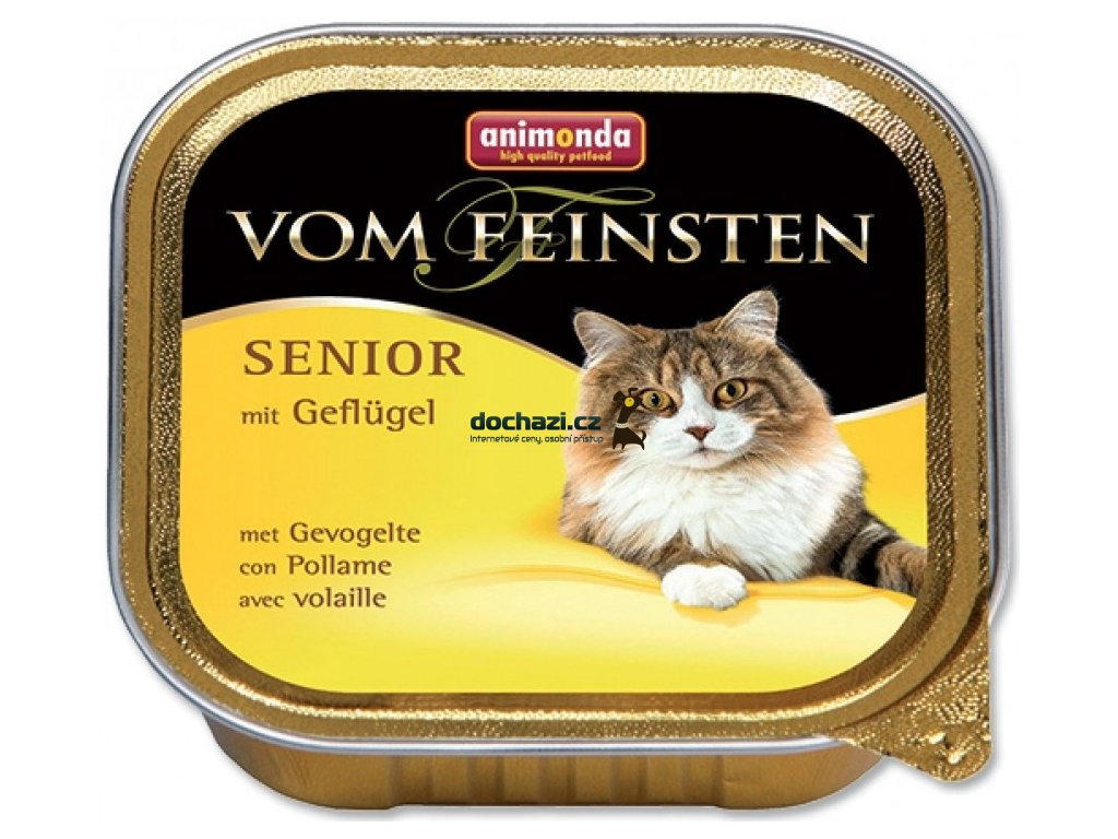 ANIMONDA cat paštika SENIOR drůbeží 100 g
