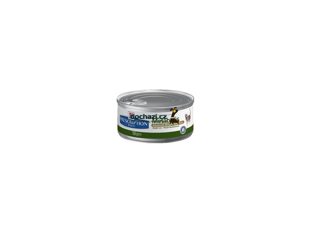 Hills cat METABOLIC konzerva 156 g