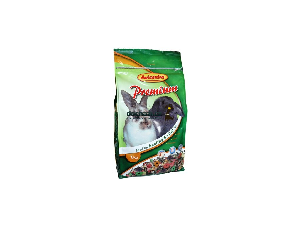 Avicentra PRÉMIUM králík 850 g