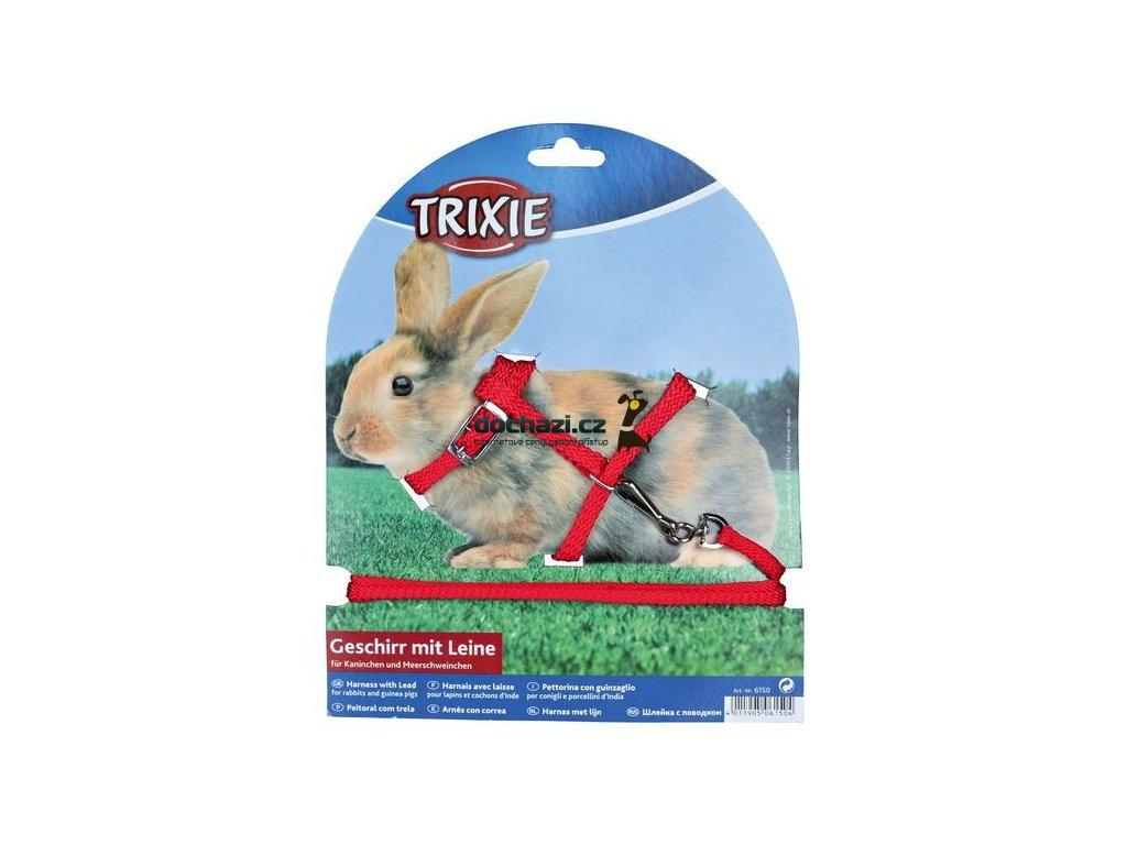 Trixie Postroj - KRÁLÍK s vodítkem