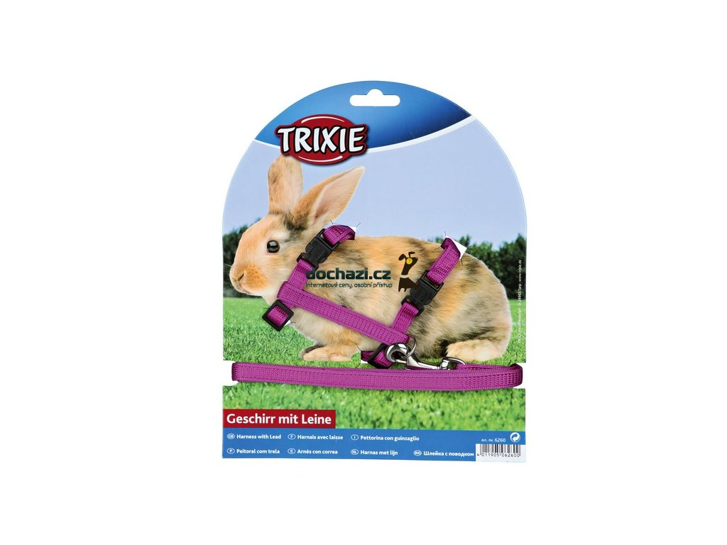 Trixie Postroj - KRÁLÍK 25-44cm /s vodítkem 1,25m