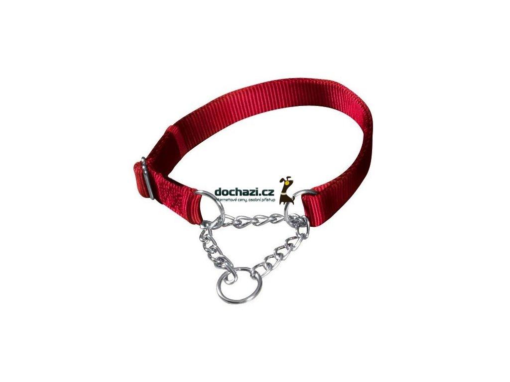 TRIXIE - Obojek Premium polostahovací Červený