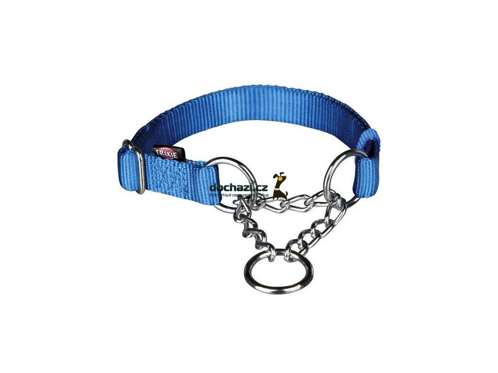 TRIXIE - Obojek Premium polostahovací Modrý