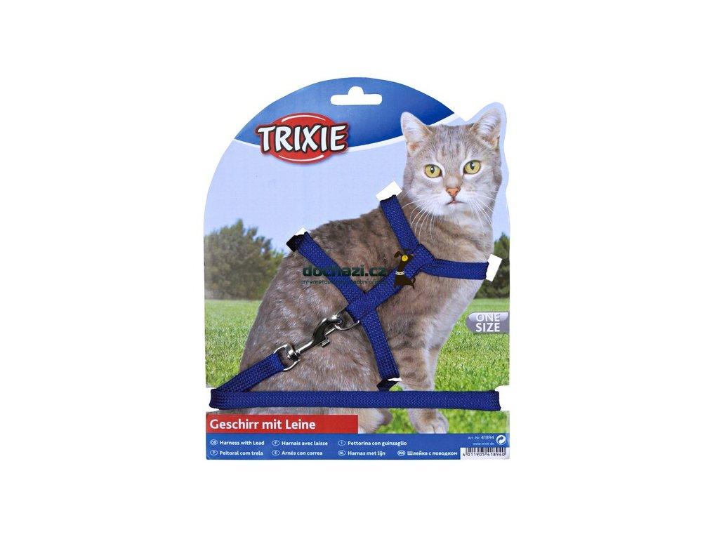 TRIXIE - Postroj  CAT s vodítkem 22-42cm/1cm/1,25m