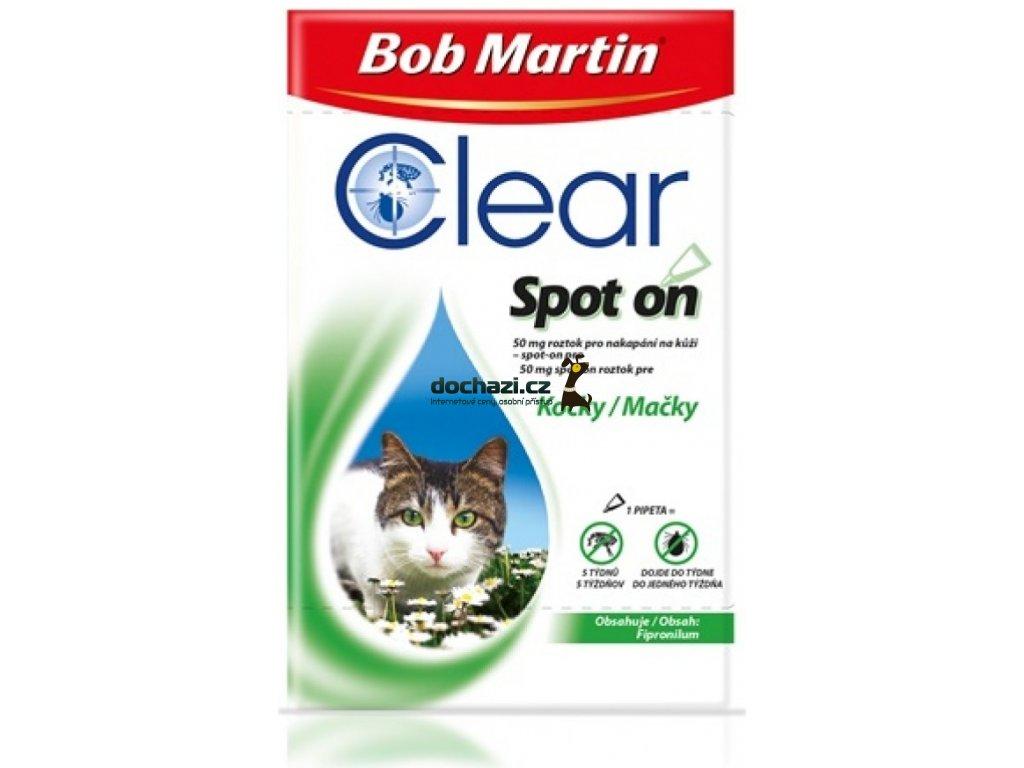 antipar. spot-on - (D) BOB MARTIN clear CAT