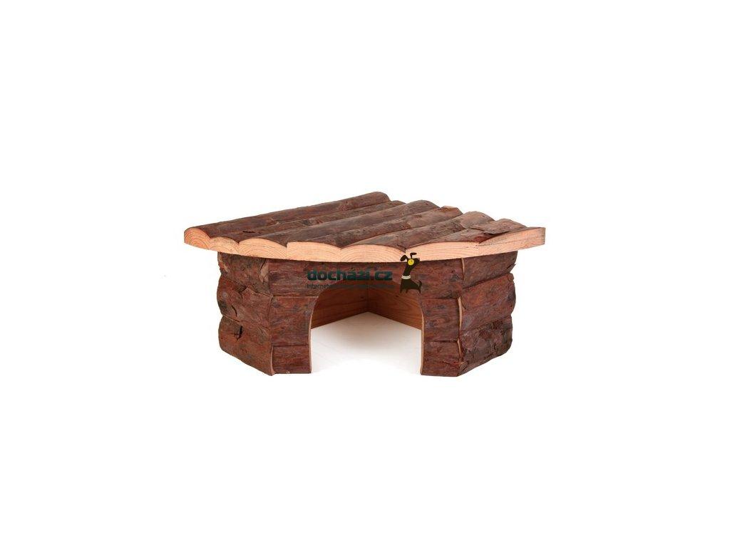 Trixie hlodavci DŮM dřevěný JESPER křeček 22x10x15cm