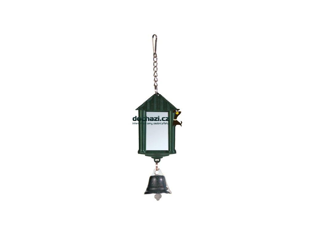 Trixie Zrcátko lucerna se zvonečkem 6cm