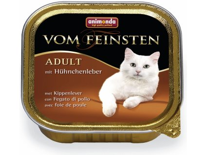ANIMONDA cat paštika CLASSIC kuřecí/játra 100g