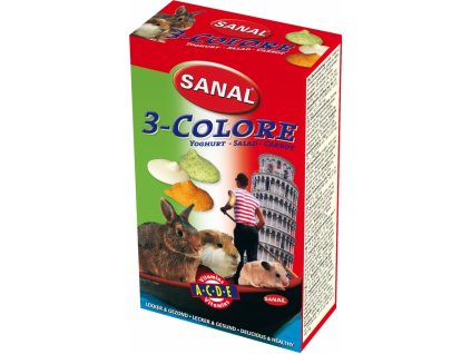 Sanal hlodavci 3-COLOR 45g