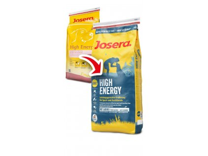 JOSERA dog HIGH ENERGY losos 15Kg