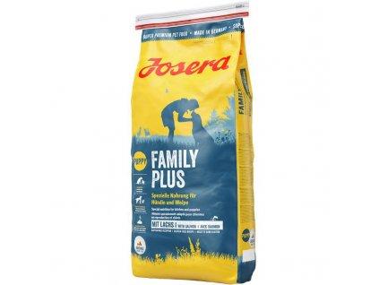 JOSERA dog FAMILY PLUS drůbeží 15Kg