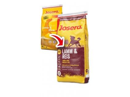 JOSERA dog JEHNĚ/rýže 15Kg