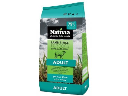 NATIVIA dog ADULT lamb & rice