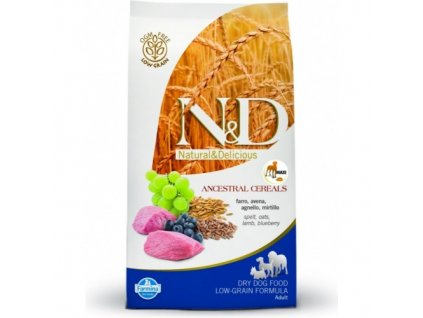 N&D Grain Free DOG Adult Maxi Lamb & Blueberry 12Kg